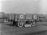 12 ton low-sided goods wagon numbered 05617. Great Central Railway. England, 1910.