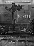 London Midland Scotland (LMS) locomotive no. 6169 'The Boy Scout ' Royal Scot class 6P 4-6-0, October 1930. DY_16682.