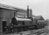 South Eastern Railway  (SER) 4-4-0 locomotive no.20 Stirling class F.