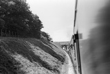 East Anstey. Barum train about to enter, 4 August 1951