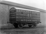 "4T. Covered motor car truck ""Sanders"", vehicle no. 1675. 6 November 1913."