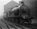 Caledonian Railway 4-4-0 locomotive no. 147.(St Rollox Locomotive Works, SRX_178)