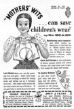 Mothers' Wits Can Save Children's Wear