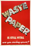 Waste Paper is Still Vital