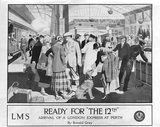 Ready for the 12th, railway poster, about 1925.
