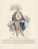 Cholera Preventive Costume', print, England, 1832.