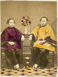 Photograph of two Chinese women