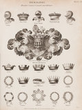 Heraldic Crowns Coronets and Helmets: Rees' Cyclopaedia