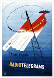 Keep in touch with your friends at sea - send them radiotelegrams - 1953