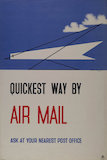 Quickest way by Airmail - 1935