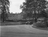 Himley Hall - van crossing bridge - 1935