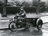 BSA motorcycle combination - 1937