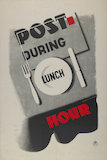 Post During Lunch Hour - 1937