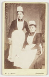 Two maids, about 1865
