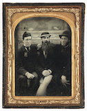 Three Friends, about 1860