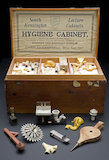 Models of hygienic sanitary appliances, 1876-1895.