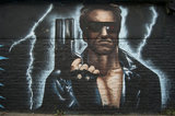 Graffiti in East London called Back to the 1980s