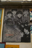 A Blands Cliff Mural of The Beatles