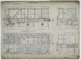 General arrangement drawing of Buenos Aires & Rosario Railway (Argentina) tender unit for '4-4-0' locomotive.42942_7012