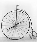 Ariel bicycle, 1870.