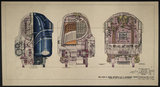 LM&SR Drawing No.D39-15794 of 4-6-2 Passenger Engine, 'Duchess of Hamilton'. 9.06.1939
