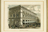 Free Trade Hall in Manchester, c.1830