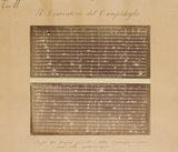 One five sheets of photographs representing the daily drawings of the solar chromosphere made by the spectroscope of Prof. L. Respighi
