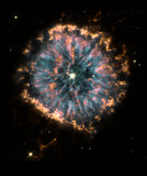 The Glowing Eye of NGC 6751