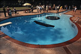 Guitar-shaped swimming pool, Nashville