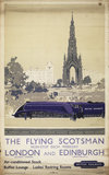 The Flying Scotsman, Non-stop each Weekday, by Frank Henry Mason, about 1950