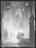 'A Christmas tree for poor children, St Martin in the Fields, London', 1933