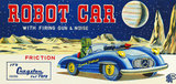 Robot Car with Firing Gun & Noise 1950