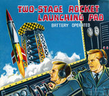 Two-Stage Rocket Launching Pad 1950