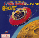 Battery Operated Flying Saucer 1950