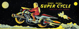 Space Patrol Super Cycle 1950