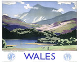 'Wales', GWR poster, 1937.