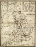 Wylds' Railway Map, 1844