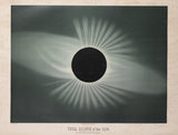Total eclipse of sun, observed 29 July 1878.