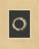 Sketch of the total eclipse of the Sun, December 22nd 1870 by Trouvelot.