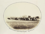 'Squadron of 17 Bengal Irregular Cavalry at Fyzabad', 1868