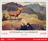 New Lockdown Travel Poster - Scotland