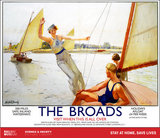 New Lockdown Travel Poster - The Broads