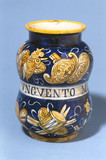 Pharmacy jar, Italian,1520-1560.