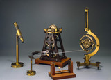 Foucault's gyroscope demonstration apparatus, c 1883.