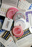 Collection of early contraceptive pills, 1960-1980.