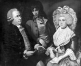 John Arnold, English horologist, with his family, c 1775.