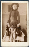 Girl with rickets, 1870-1910.