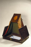 Folding tent-type camera obscura, 1800-1824.