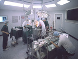 Heart surgery in 1980.