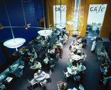 The Science Museum cafe, London, 1995.